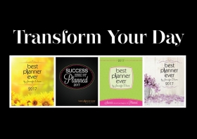 20% off: BEST Planner Ever–Success is Planned!