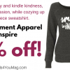 10% off :: SMILE to INSPIRE Empowerment Apparel