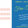 Website + Online Business FREE Live Trainings Series!
