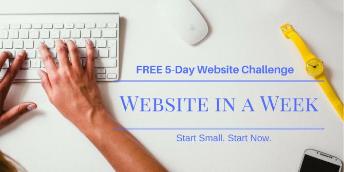 FREE: 5-Day Website Challenge