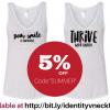5% off : Positive Summer V-Neck Tanks