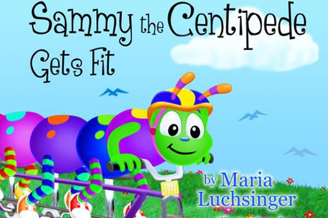 Sammy the Centipede Children's Books