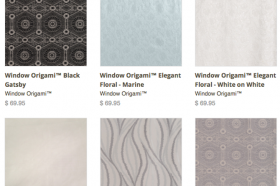 10% off Window Origami™ Curtains