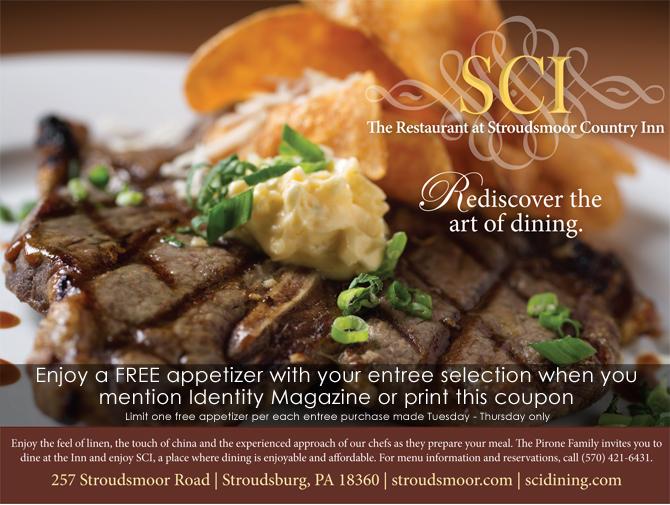 Stroudsmoor Country Inn - Dining