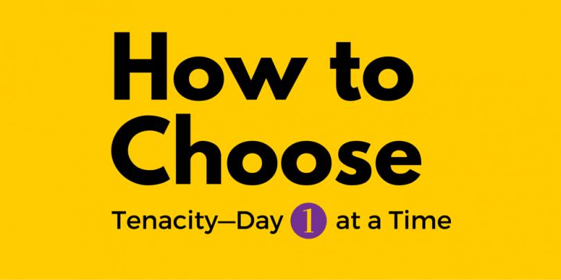 How to choose tenacity: Jennie Mustafa-Julock