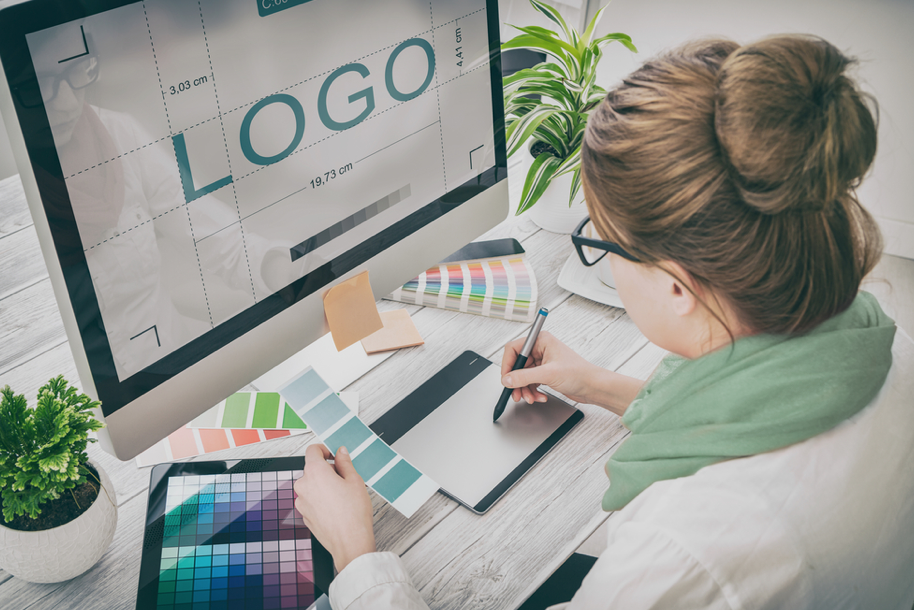 start a business with a logo