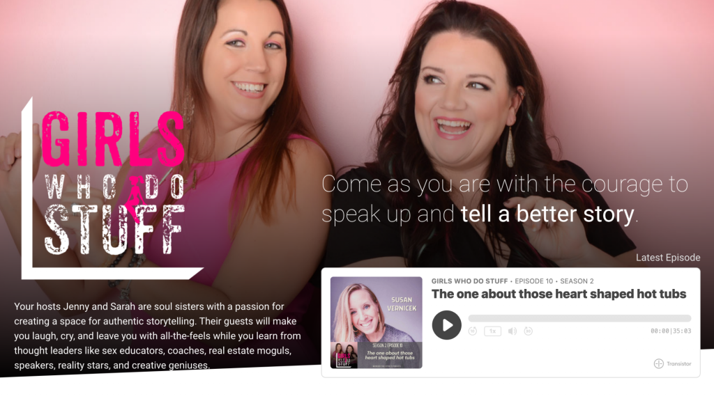 Girls Who Do Stuff Podcast: Susan Vernicek